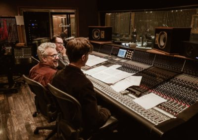 Recording Session @ Capitol Studios, LA