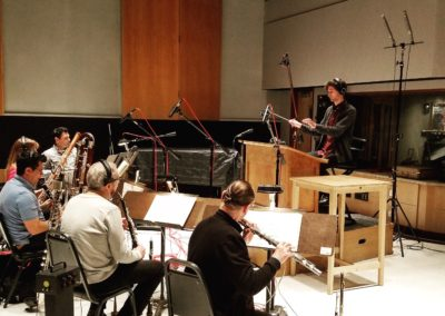 Recording and Conducting at Capitol Studios